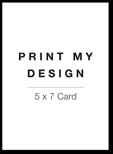 Christmas Cards To Print.Print My Design 5x7 Unique Christmas Cards Tiny Prints