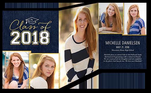 Lifted Grad Graduation Announcement