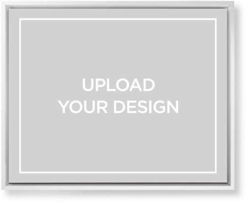 Upload Your Own Design Mounted Wall Art, Single piece, White, 16 x 20 inches, Multicolor