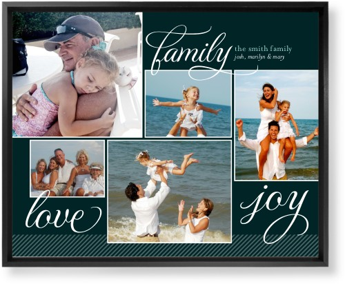 Family Sentiments Mounted Wall Art, Single piece, Black, 16 x 20 inches, Black