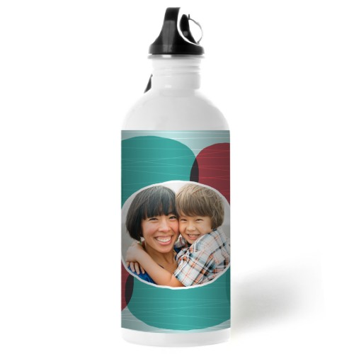 Photo Bubbles Water Bottle, 20 oz, Multicolor