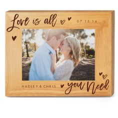Name Personalized Wood Frames Wood Picture Frames Shutterfly