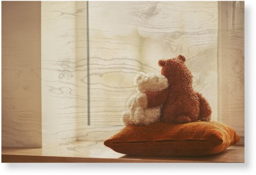 Bear Friends Wood Wall Art, Single piece, 24 x 36 inches, Multicolor