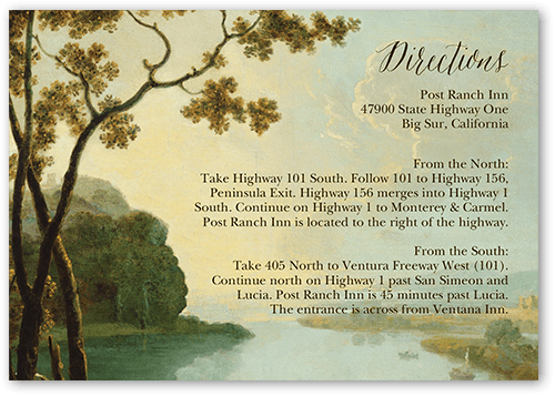 Fairy Tale Wedding Enclosure Card
