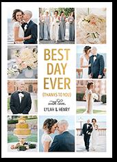 Jill Smith Wedding Thank You Cards Shutterfly