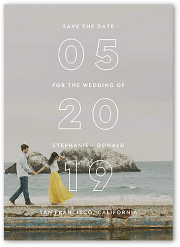Wedding Save The Dates.Superb Overture Save The Dates Shutterfly