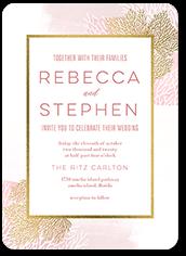beach union wedding invitation