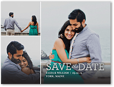 focused on forever love save the date