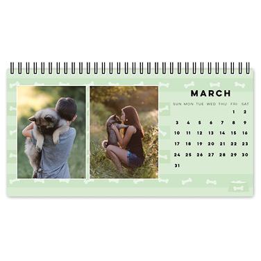 must love dogs desk calendar