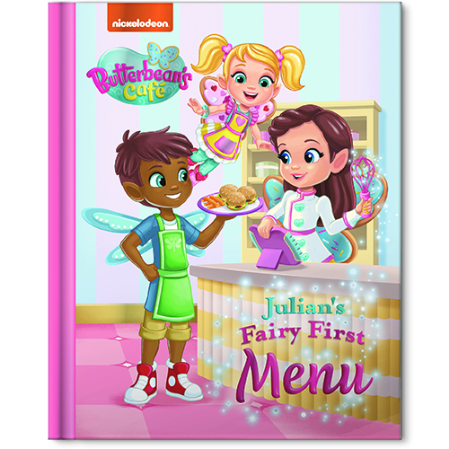 my fairy first menu storybook personalized story book