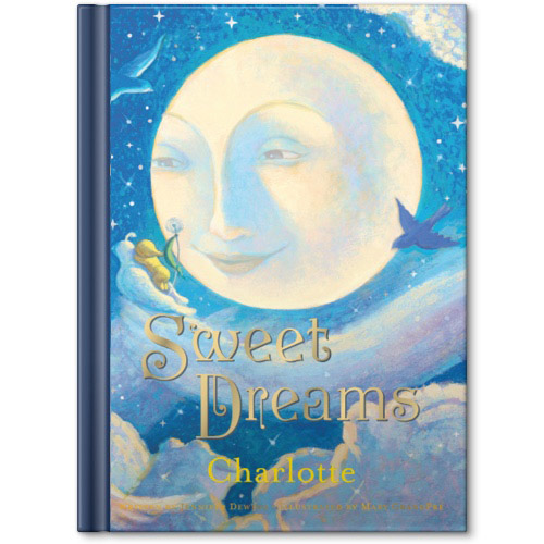 sweet dreams personalized story book