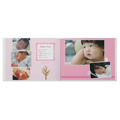 oh baby girl photo book