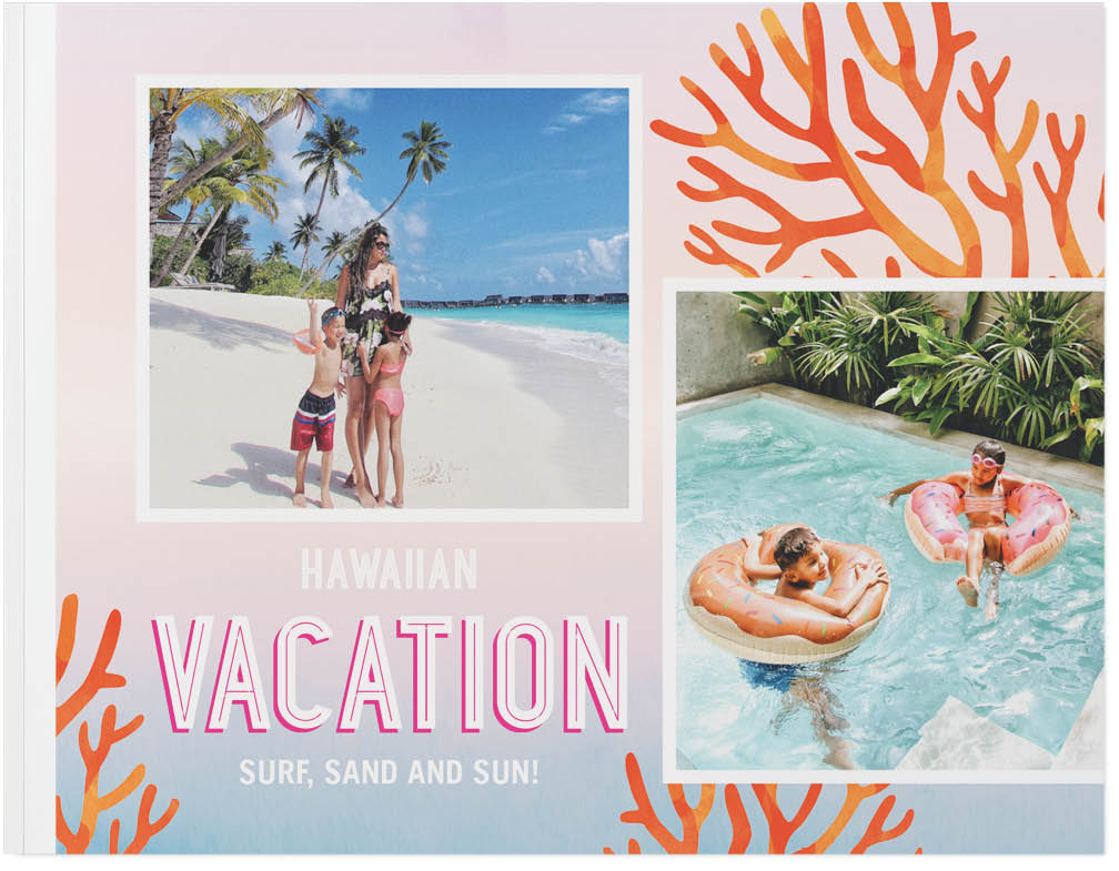 tropical travels photo book