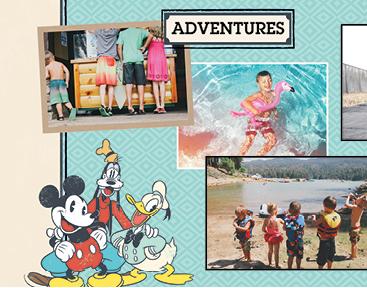 Vintage Disney, 11x14, Hard Photo Cover Book, Deluxe Layflat