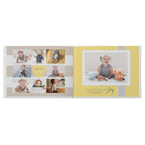 welcome baby photo book
