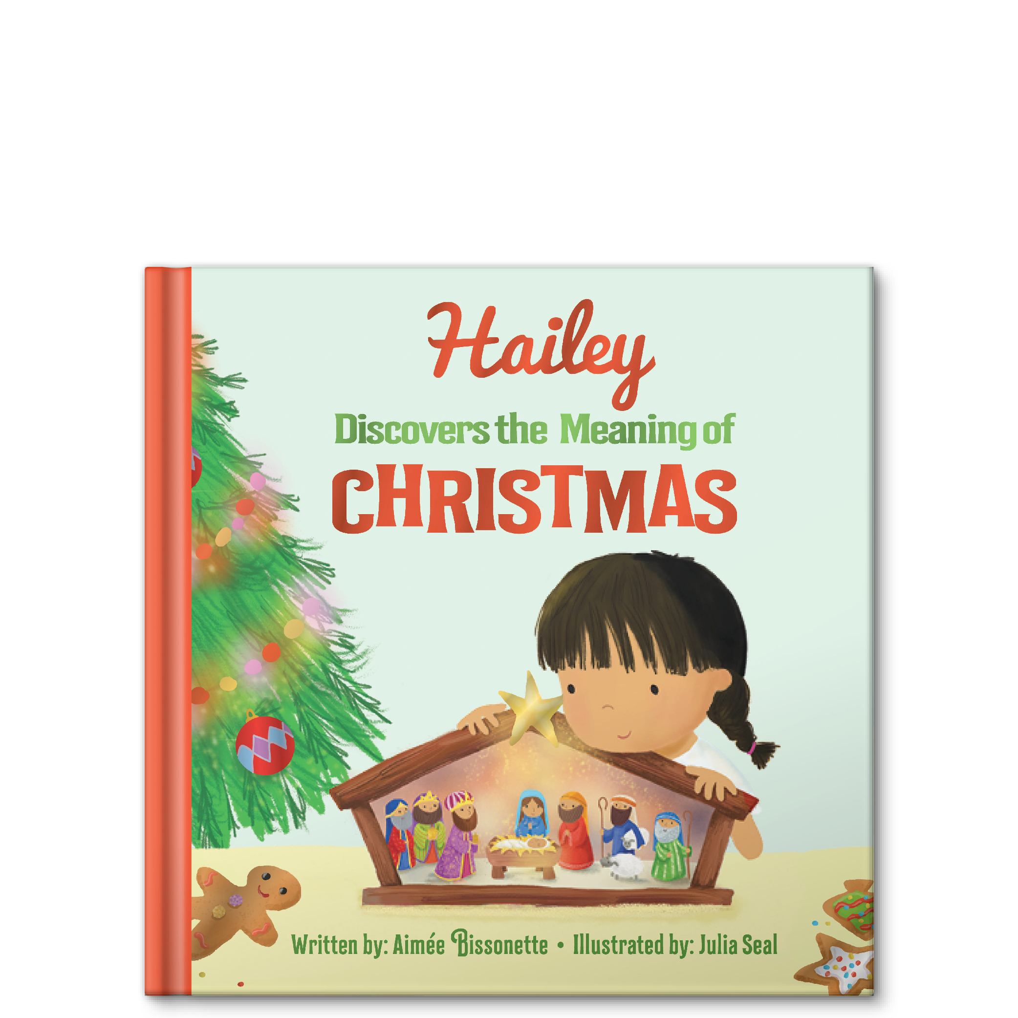 discover the meaning of christmas personalized story book