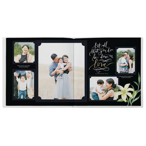 elegant blessings photo book