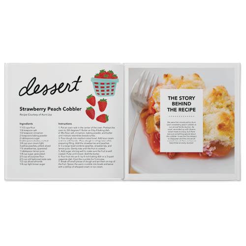 everyday recipes by slightly stationery photo book
