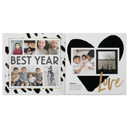 family yearbook photo book