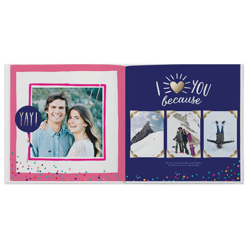 love you because photo book