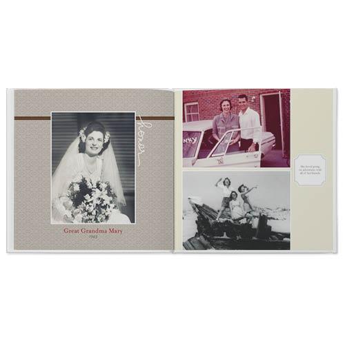 memorium photo book