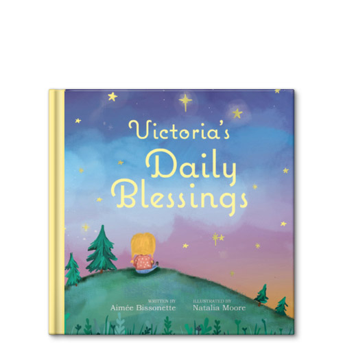 my daily blessings personalized story book