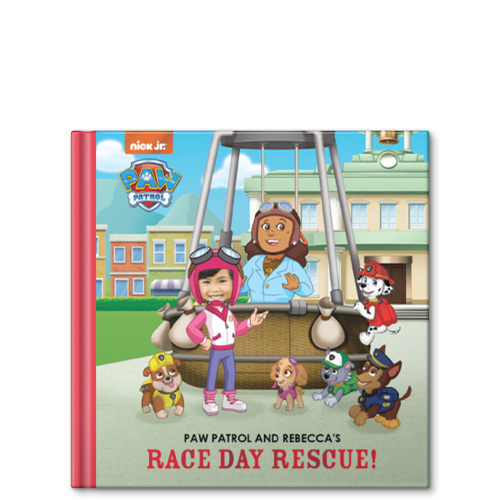 PAW Patrol And My Race Day Rescue Personalized Story Book