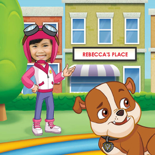 PAW Patrol and My Race Day Rescue! Personalized Story Book | Shutterfly
