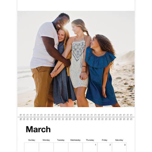 photo gallery wall calendar