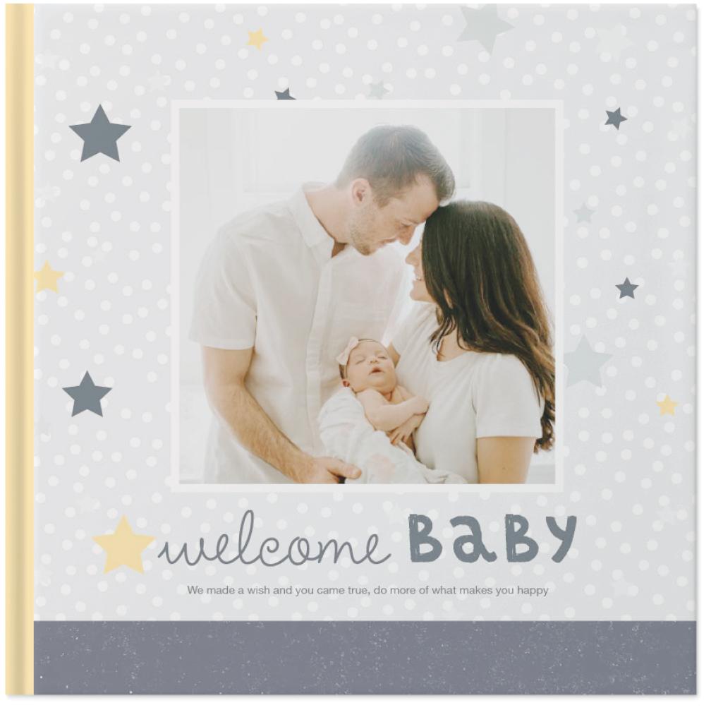 classic baby photo book