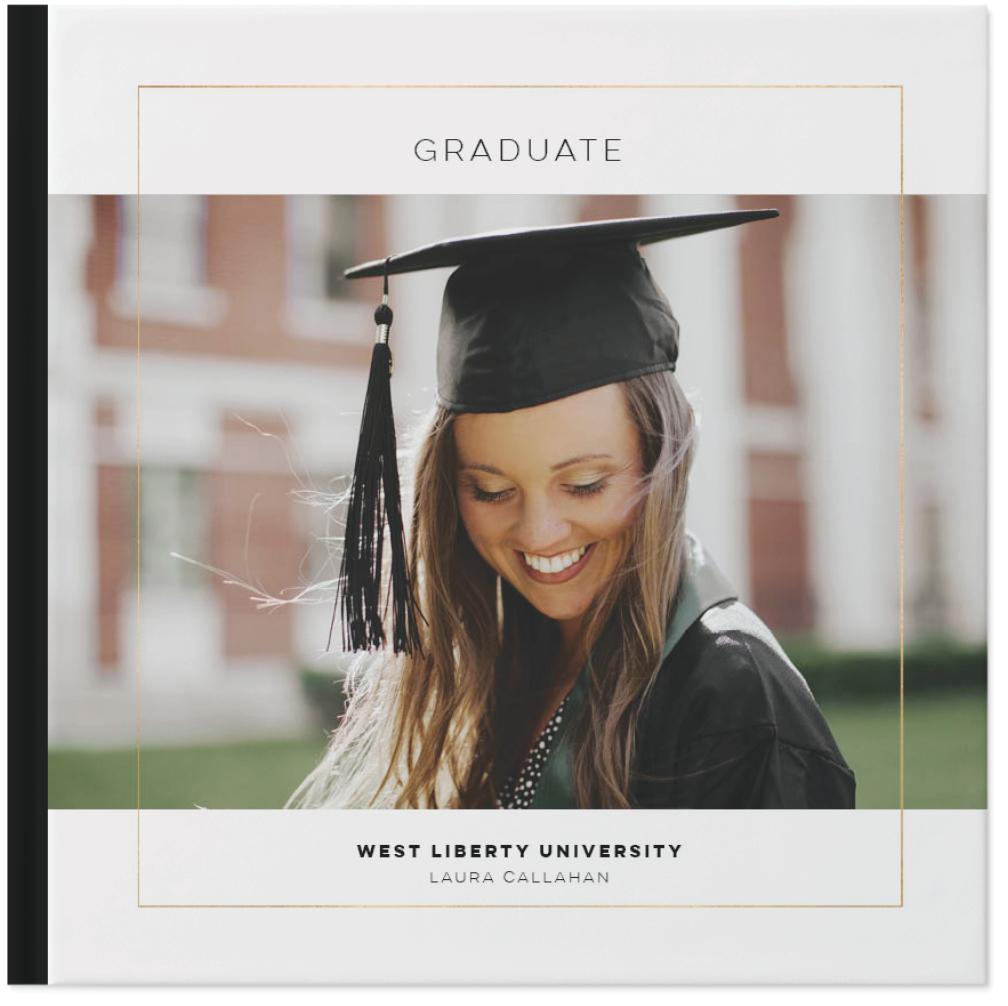 graduation celebration photo book