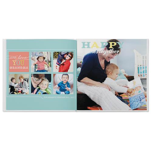 we heart grandparents photo book
