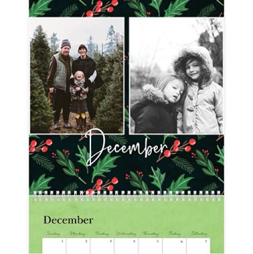 whimsical seasons wall calendar